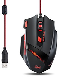 Zelotes T90 9200DPI 8 Buttons Optical USB Wired Professional Gaming Mouse Mice for Laptops Desktops