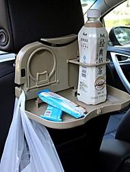 auto ziqiao sedile pieghevole supporto posteriore poggiatesta multi-funzionale sala da corsa vassoio di bevande titolare / telefono