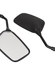 2pcs Rearview Mirror for Motorcycle Side Universal Plastic