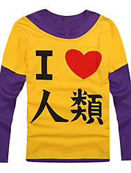Inspired by No Game No Life Cosplay Anime Cosplay Costumes Cosplay Hoodies Print Black Long Sleeve Coat