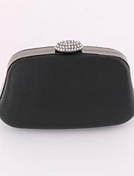 Draagtas / Clutch / Avondtasje / Portefeuille / Mobile Phone Bag-Goud / Zwart-Minaudière-PU / Metaal-Dames