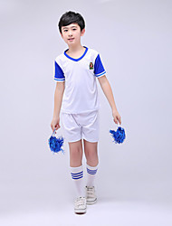 Asusteet-Puuvilla / Elastaani-Kuvio/painatus-Cheerleader-asut-Lasten-Valkoinen