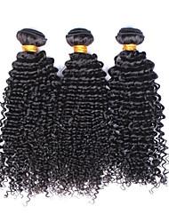 3pcs / lot cabelo virgem onda profunda 100% peruano 6a série onda profunda não transformados cabelo onda peruano humana profunda