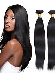12-28inch recto montón brasileña virginal del pelo de Remy del pelo 3pcs grade8a colores naturales no procesados extensiones de cabello
