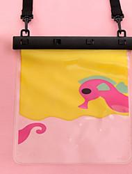 desenhos animados pvc caixas secas impermeável material adequado para celular iphone para mergulho / natação / pesca 24 * 20cm