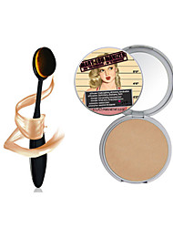 1PCS Makeup The B@lm Mary-Lou Manizer Bronzer & Highlighter Cosmetics +1PCS Masterclass Oval Foundation Makeup Brush