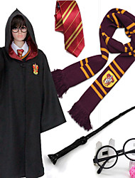 Cosplay-Rouge / Jaune / Bleu / Vert-Costumes de cosplay-Harry Potter- pourEnfant