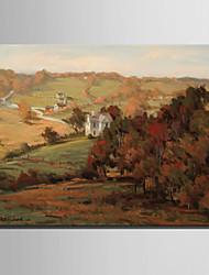 mini tamaño de la pintura al óleo e-hogar moderno una pequeña casa en una mano pura ladera dibujar pintura decorativa sin marco