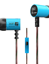 3.5mm Wired  Earbuds (In Ear) for Media Player/Tablet|Mobile Phone|Computer No Microphone