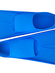Diving Fins Swimming silicone Blue