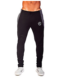 Course / Running Pantalon/Surpantalon Bas Homme Respirable Anti-transpiration Polyester Exercice & Fitness Sport de détente Course/Running