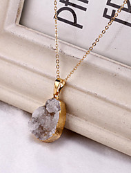 Necklace Pendant Necklaces Jewelry Wedding / Party / Daily / Casual Agate Transparent 1pc Gift