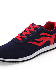 Men's Running Shoes Fabric Black / Red / White