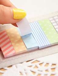 1 X Cute 160 Pages Sticker Post It Bookmark Point It Marker Memo Flags Decorative Sticky Notes sticker paper