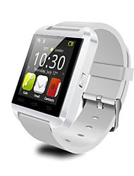 Муж. Наручные часы Цифровой LED Цветной Pезина Группа Cool Черный Белый