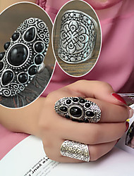Women's Alloy Ring Rhinestone Alloy 2 Pieces