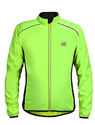 Cycling Tops / Windbreakers / Jerseys / Jacket Unisex Bike Quick Dry / Windproof / Lightweight Materials / Reflective Strips Long Sleeve