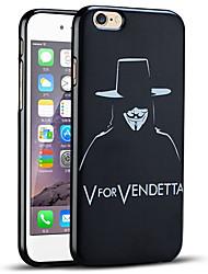 v para el caso del iphone venganza protectora suave de la contraportada para el iphone 6s / iPhone 6