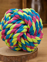 Dog Toy Pet Toys Ball Woven Textile