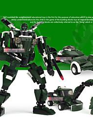 jouet en plastique de construction de modèles pour les garçons échelle modèles transformateurs enfants blocs de construction éducatifs