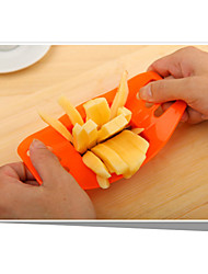 Potato Bar Cutting Machine French Fries Tool Stainless Steel Vegetable Potato Slicer Cutter Chopper Chips Making Tool