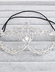 Women's Rhinestone Headpiece-Wedding / Special Occasion / Casual / Office & Career / Outdoor Masks 1 Piece