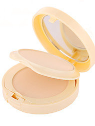 2 Powder Wet / Matte / Mineral Pressed powder Whitening / Long Lasting / Natural Face Multi-color Zhejiang LIDEAL
