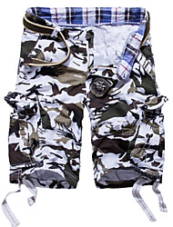 High Quality Men's Casual Sports Trousers Multi-functional pocket Camouflage  outdoor baggy  Army Cargo shorts