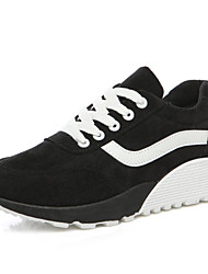 Women's Running Shoes Cotton / Fabric Black / Blue / Red