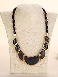 KAILA Women's New Fashion Vintage / Cute / Party /  Casual Rhinestone Gemstone Pendant Necklace