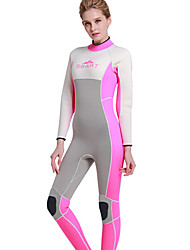 SBART® Women's 3mm Dive Skins Diving Hoods Wetsuit Skin Full Wetsuit Thermal / Warm Ultraviolet Resistant Full Body Neoprene Chinlon