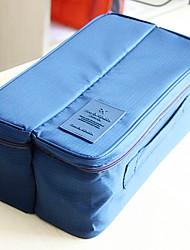 Luggage Organizer / Packing Organizer Toiletry Bag Portable Multi-function for Travel StorageOrange Gray Red Blue Blushing Pink