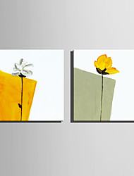 mini-peinture à l'huile de taille e-maison moderne d'une main pure fleur dessiner peinture décorative frameless