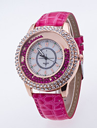 Women Ornament Wristwatch Top Brand New Watch For Ladies Quartz Luxury Watch Of The Shinning Bamboo Pu Leather Band