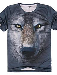 atmungsaktive Baumwolle Tiermuster T-Shirt für die Jagd / Wandern / Angeln