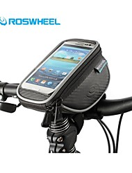 Roswheel Size L Mountain Bike Handlebar Bag Cycling Phone Case Waterproof Touch Screen Ciclismo Bolsa