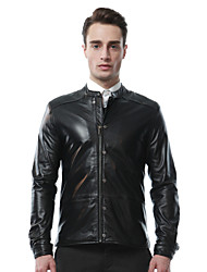 Mens Genuine Leather Jacket