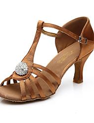 Non Customizable Women's Dance Shoes Belly / Latin / Jazz / Dance Sneakers / Swing Shoes /Dance Shoes Accessories Satin