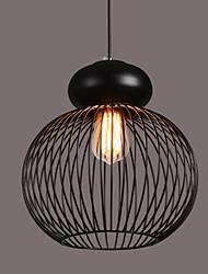 Max 60W Retro Designers Metal Pendant Lights Bedroom / Dining Room / Kitchen / Study Room/Office / Hallway