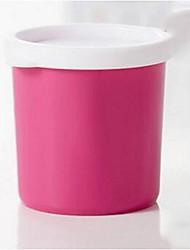 spuntino tazza tenuta serbatoio di archiviazione portatile di plastica, colore casuale