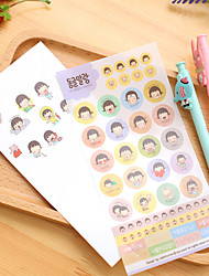 1set Stickers