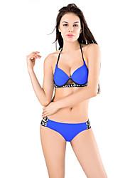 Women's Bandeau Bikini, Bandage On Top Two Piece Swimsuit