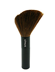 Single Black Bar Rouge Brush Pure Wool Beauty Makeup Brush