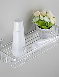 Полка для ванной Анодированное Крепление на стену 31*23*18cm Алюминий Современный