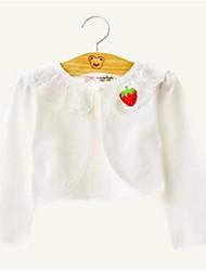 Wedding / Party/Evening / Casual Cotton / Lace Shrugs Long Sleeve Wedding  Wraps / Kids Wraps