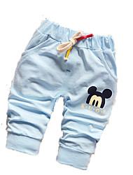 Pantaloni Maschile Estate Cotone
