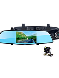 WDR Night Vision Dual Camera Lens Car Rearview Mirror Dvr Camera With Rear Camera Parking 1080P Dashcam