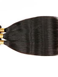 3Bundles 150g Brazilian Virgin Hair Weave Natural Black Straight Hair Unprocessed Virgin Human Hair Weaves