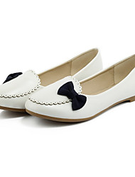 Women's Shoes Flat Heel Round Toe Flats Dress / Casual Blue / Pink / White