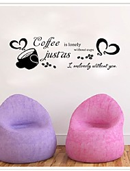 Coffee Is Always A Good Idea Wall Decals Vinyl Stickers Home Decoration Wall Art Living Room Wall Kitchen Wall Sticker